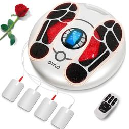 OSITO Foot Massager Legs Blood Circulation Tens EMS Pulse Pa
